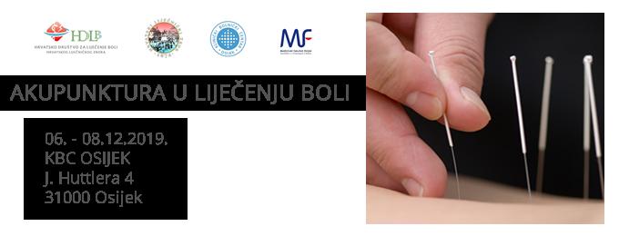 Akupunktura u lij. boli 2019